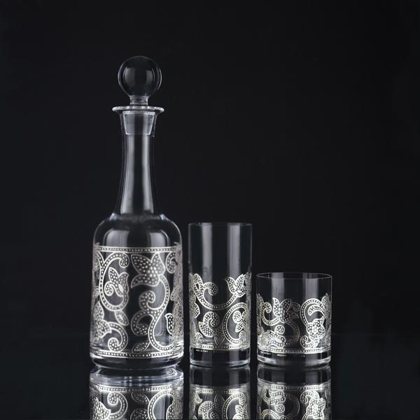 بطری و لیوان - Samarcanda Silver