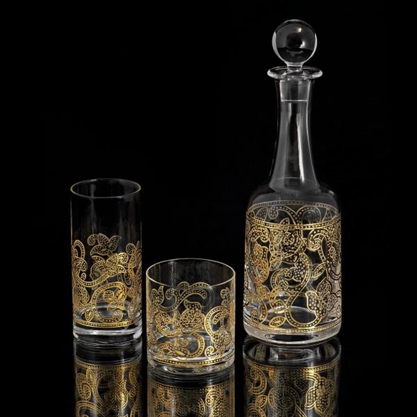 بطری و لیوان - Samarcanda Gold