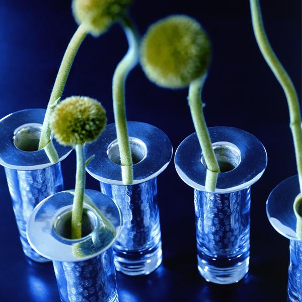 گلدان استوانه ای کوچک  - Chandi