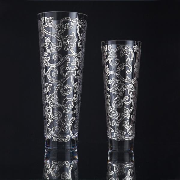 گلدان مخروطی - Samarcanda Silver